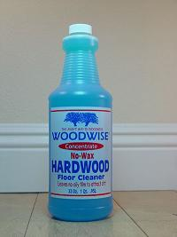 1-qt. bottle of WOODWISE Concentrate to mix 16 more bottles of spray! A great value! Nothing cleans floors like our WOODWISE Hardwood Floor Cleaner.